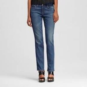 Mossimo Mid Rise Straight Leg Jeans Size 4R